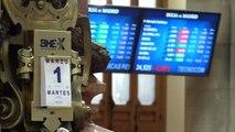 La Bolsa amplía ganancias y supera los 8.500 puntos pasado el mediodía