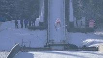 Thomas Diethart fait une lourde chute en saut à ski