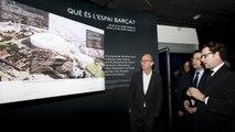 Oberta l'exposició del Nou Palau Blaugrana