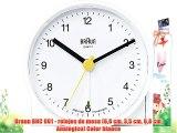 Braun BNC 001 - relojes de mesa (68 cm 35 cm 68 cm Analógico) Color blanco