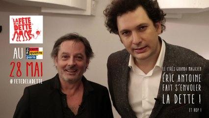 Incroyable !! Avec Christophe Alévèque, Eric Antoine fait s'envoler la Dette à la Fête de la Dette !!