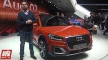 Audi Q2 GENEVE 2016 : le SUV compact dévoilé au salon de Genève