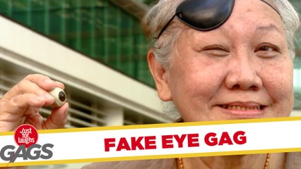 Granny Loses Eyeball - JFL Gags Asia Edition