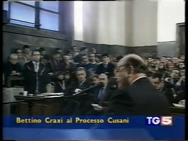 (VIDEO STORICO):CRAXI ACCUSA PUBBLICAMENTE NAPOLITANO DI AVERE TACIUTO