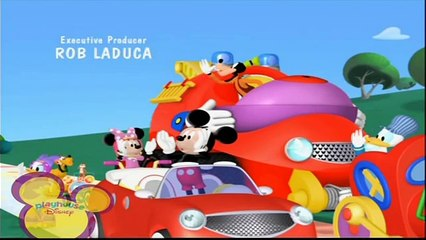 Playhouse Disney Scandinavia MICKEY MOUSE CLUBHOUSE : ROAD RALLY Ending Credits / Outro