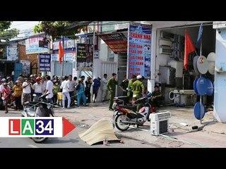 Nổ bình gas máy lạnh, 3 người thương vong   LATV