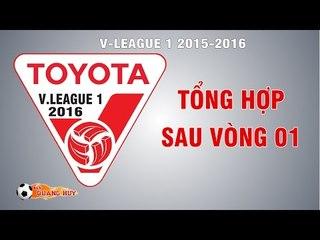 Tổng hợp Vòng 1 Toyota V.League 1-2016