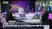Olivier Delamarche VS Patrice Gautry (1/2): Zone euro: l'inflation retombe en territoire négatif en février - 29/02