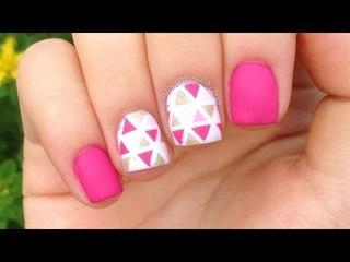 Easy Geometric Nails