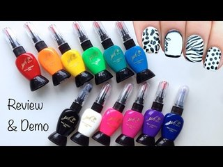 Simply Spoiled Beauty Products Nail Art Pens Review & Demo
