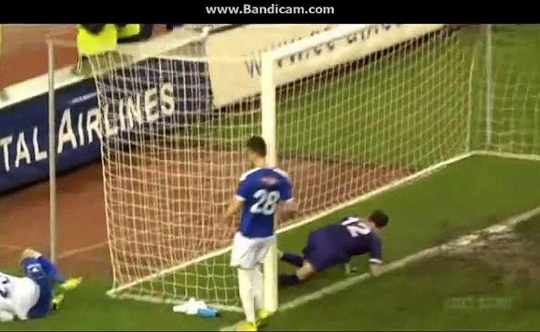Zoran Nizic - 2-1 - GOAL - Hajduk split vs Osijek - 01.03.2016