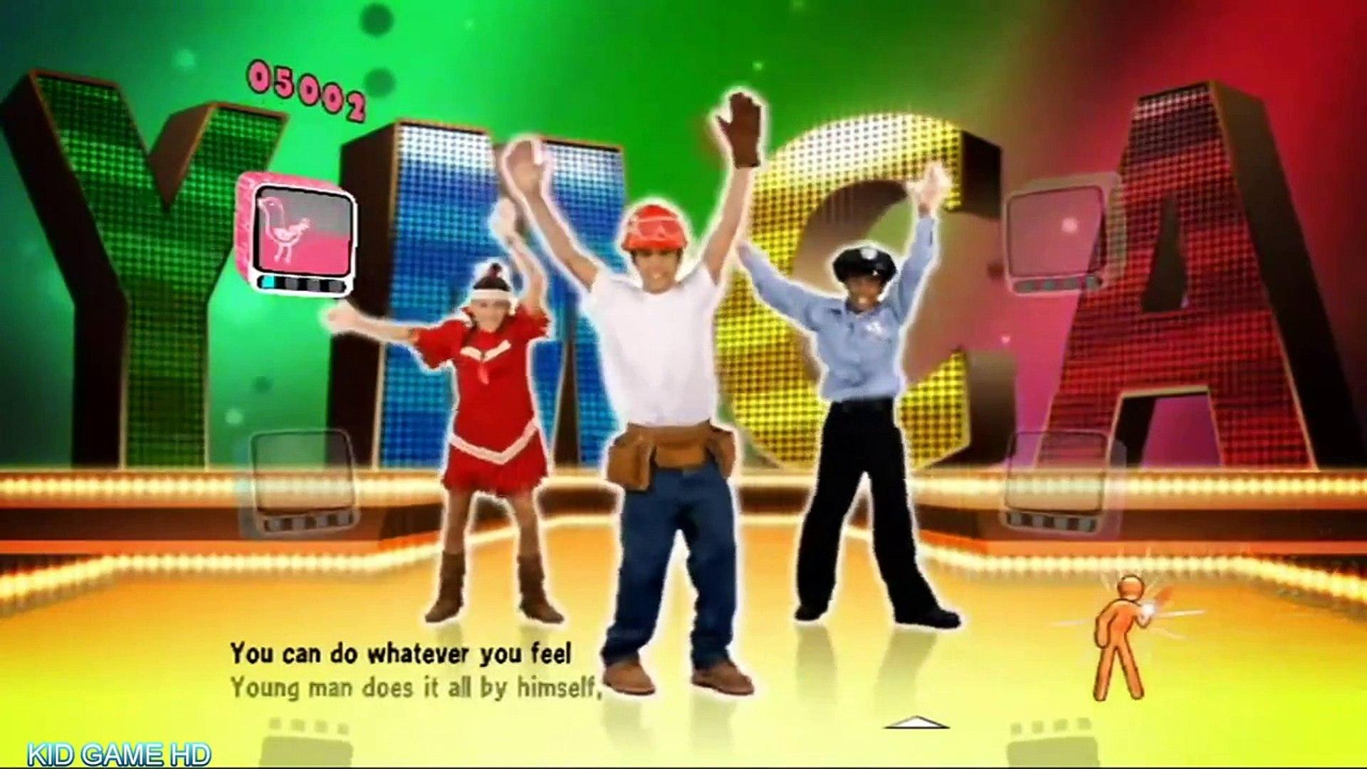 JUST DANCE KIDS | 1080p MOVIE Game | YMCA | CARS KID GAME HD