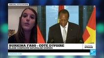 Blaise Compaoré obtient la nationalité ivoirienne, et ne peut plus être extradé au Burkina Faso