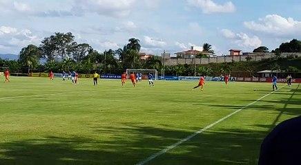Jogo-treino entre Cruzeiro e Náutico-RR, na Toca da Raposa II