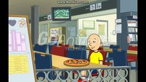 Caillou goes to the Chuck e Chesses and gets grounded