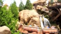 [HD] Snow White Roller Coaster Ride POV - Seven Dwarfs Mine Train Roller Coaster - Magic Kingdom