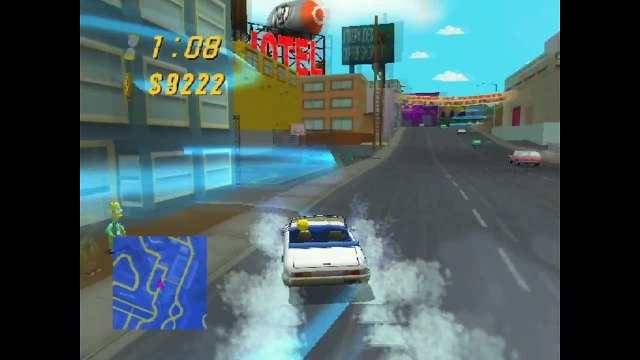 Xin Plays: Simpsons: Road Rage (Gamecube) Part 7.5.5: Another Way.