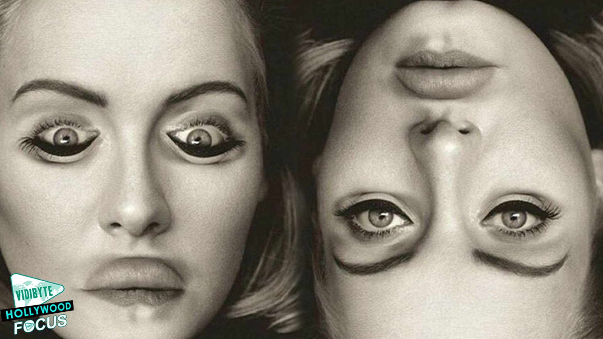 Adele S Upside Down Album Cover Goes Viral Video Dailymotion