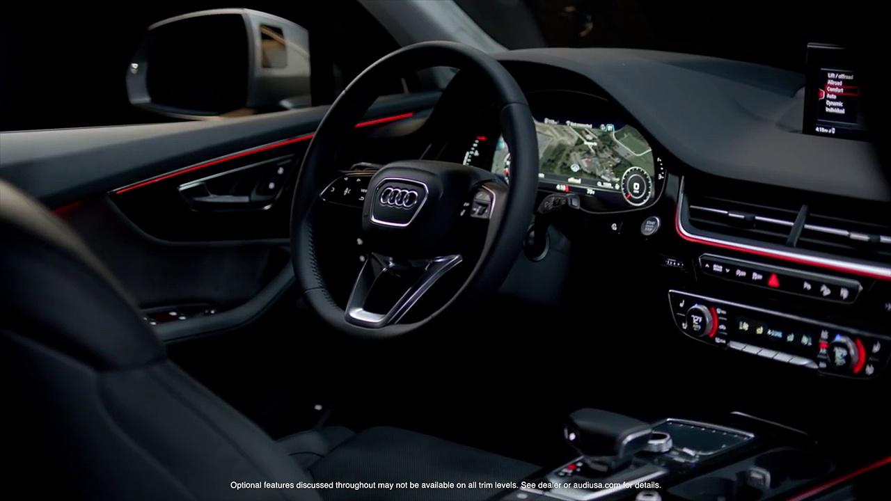 2017 Audi Q7 Infotainment & Audi connect