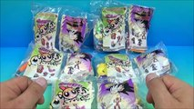 2002 DRAGON BALL Z and THE POWERPUFF GIRLS SET OF 10 BURGER KING KIDS TOYS VIDEO REVIEW