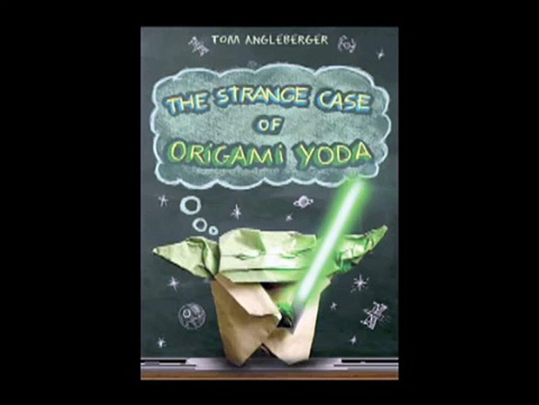 The Strange Case of Origami Yoda by Tom Angleberger - YouTube | 1080x1440
