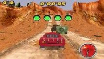 Saetta McQueen ITALIANO Gameplay #3 Cars Corsa nel Deserto del Nord C I di Carl Attrezzi