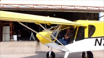 Folding Wings Option for storage and trailering: Zenith STOL CH 750