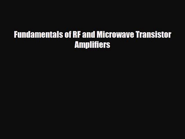 Fundamentals Of Rf And