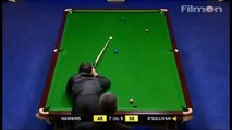 Ronnie osullivan just a little of snooker