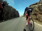 Team IG Sigma Sport Cycling descend Sa Calobra, Mallorca