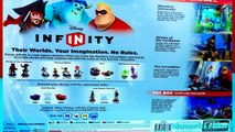 Disney Infinity Toy Playset Unboxing! - Disney Infinity Toy Starter Pack Includes Sully, Mr. Incredible and Captain Jack Sparrow!