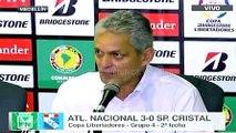 Reinaldo Rueda habló tras el 3-0 de Nacional a Sporting Cristal · Copa Libertadores 2016 (grupo 4, fecha 2)