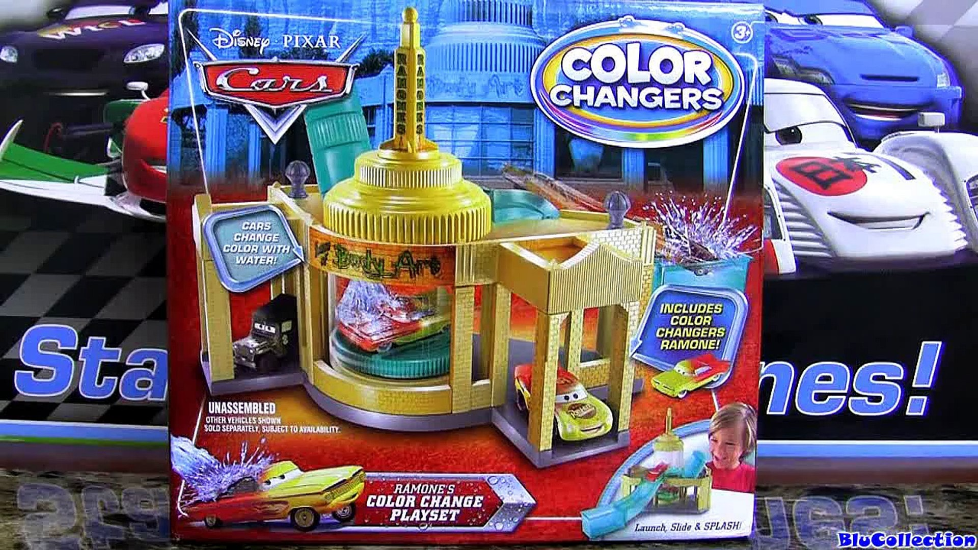Ramones Color Changers Playset Cars House Of Body Art Water Toys Using Colour Shifters Disney Pixar Video Dailymotion