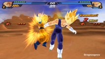 Dark Majin Vegeta VS Goku (DBZ Tenkaichi 3 mod, Dragon Ball Xenoverse tribute)