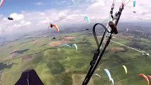 14th World paragliding championship 2015 (Roldanillo, Colombia) HD! - aggressive flying