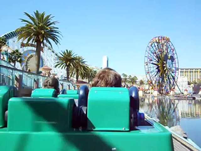 California Screamin' POV from the back of the train