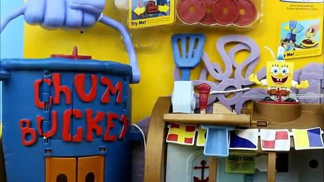 Imaginext Krusty Krab Playset Spongebob Squarepants Plankton Battle for Crabby Patty!