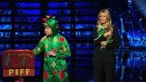 Piff the Magic Dragon: Comedic Magician Kisses Heidi Klum - Americas Got Talent 2015