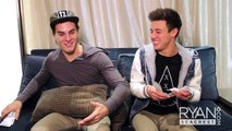 7 SECOND CHALLENGE w/ Cameron Dallas & Marcus Johns   On Air with Ryan Seacrest
