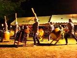 祭礼 和太鼓の音