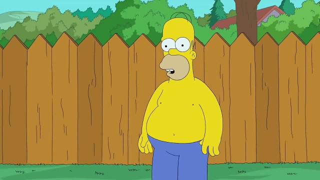 THE SIMPSONS | Simpsons ALS Ice Bucket Challenge | ANIMATION on FOX