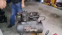 Chris McGonigle 4 hp Briggs and Stratton motor and 5 gallon