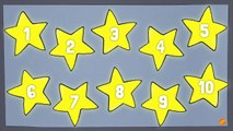 Counting Stars - 1 to 10 Numbers and Counting Video for Kids
