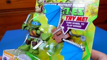 Teenage Mutant Ninja Turtles Half Shell Heroes Leo With Glider Wings Unboxing Toy Review ToyRap