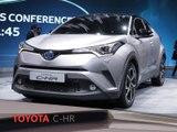 Toyota C-HR en direct du salon de Genève 2016