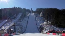 Terrible chute du skieur Thomas Diethart en saut à ski - brotterode 2016