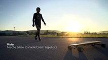 Record du monde de vitesse en longboard électrique à 96 km/h !