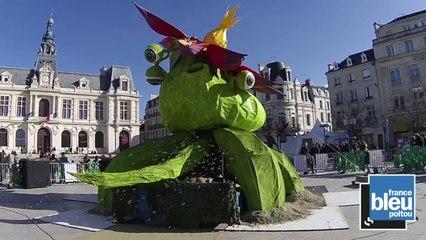 Carnaval de Poitiers: «Le végétal est sur la place!» (Alain Claeys)