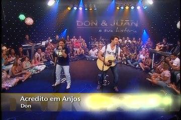 Don&Juan cantam sucessos para plateia animada - Bloco 1