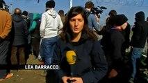 Idomeni : jusqu'à 10 000 migrants bloqués au poste-frontière